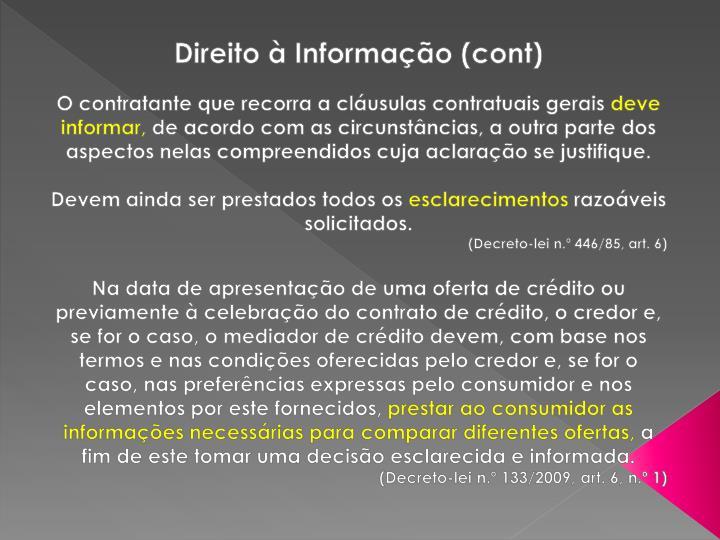 Direito à Informação (