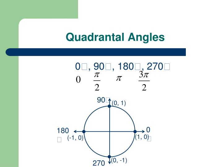 Quadrantal