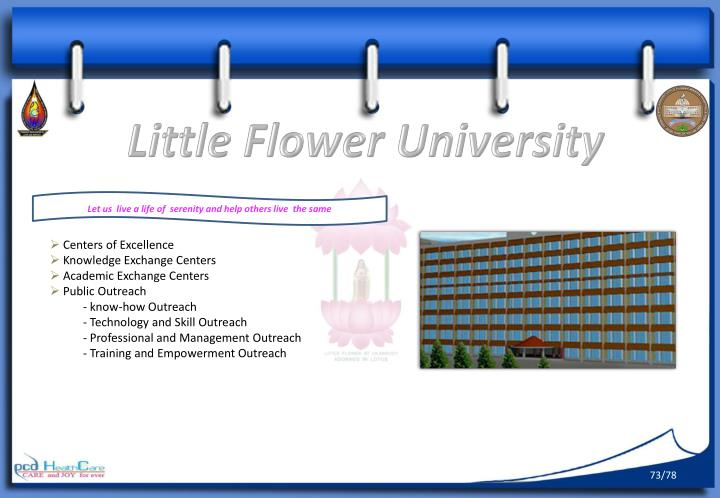 Little Flower University