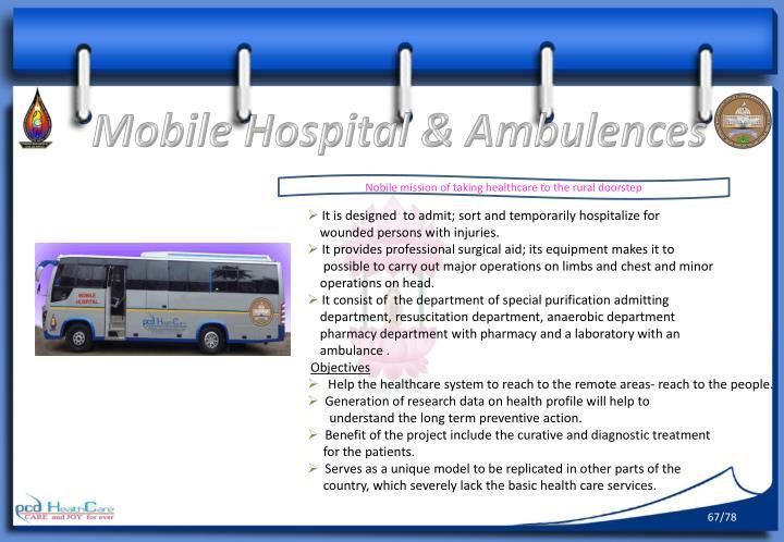 Mobile Hospital &