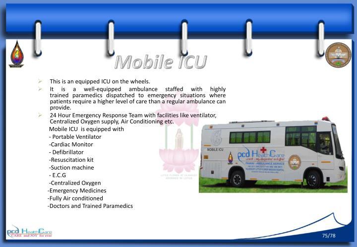 Mobile ICU