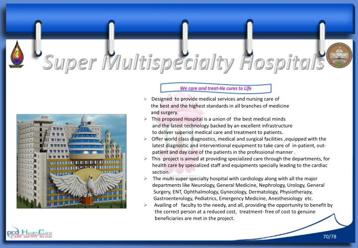 Super Multispecialty Hospitals