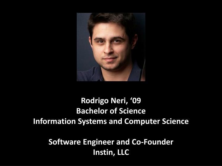 Rodrigo Neri, '09