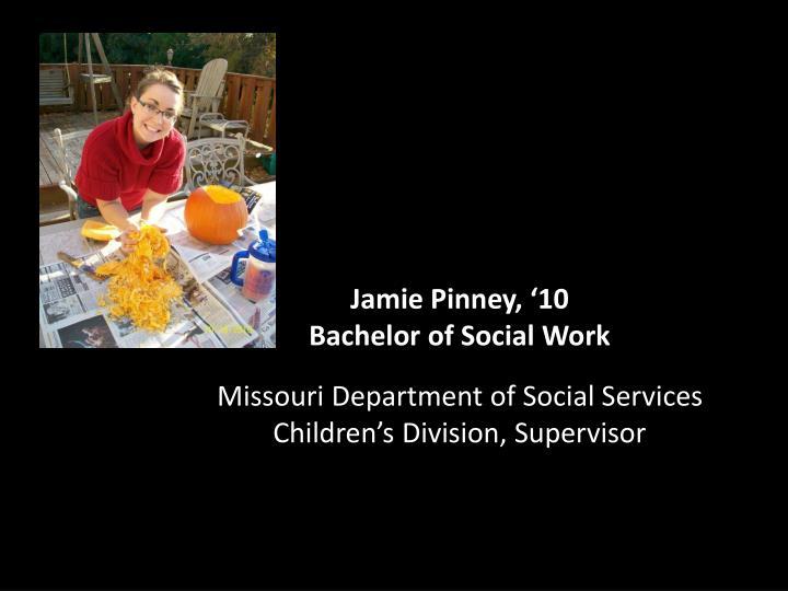 Jamie Pinney, '10