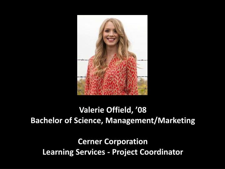 Valerie Offield, '08