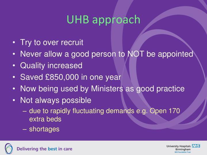 UHB approach