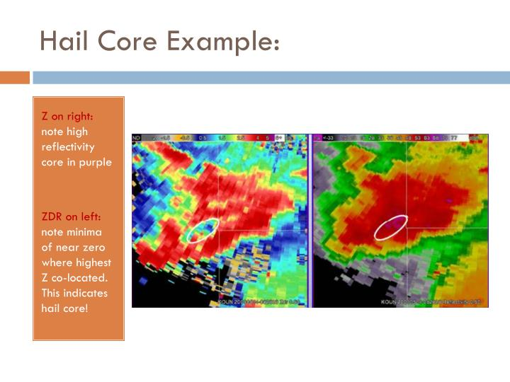 Hail Core Example: