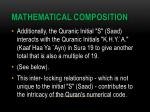 mathematical composition13