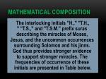 mathematical composition16