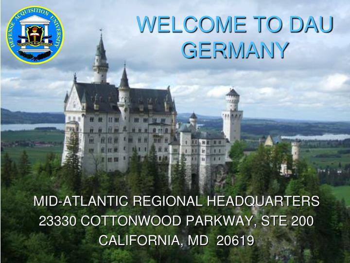 Welcome to dau germany
