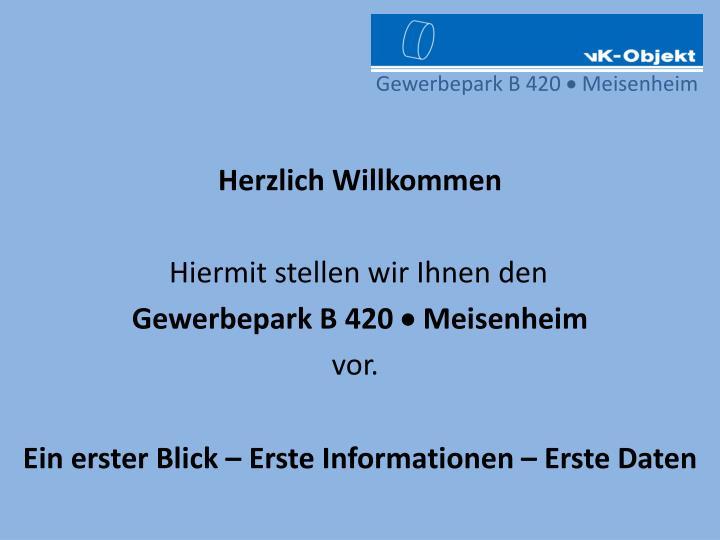 Gewerbepark B 420
