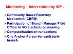 monitoring intervention by ikp