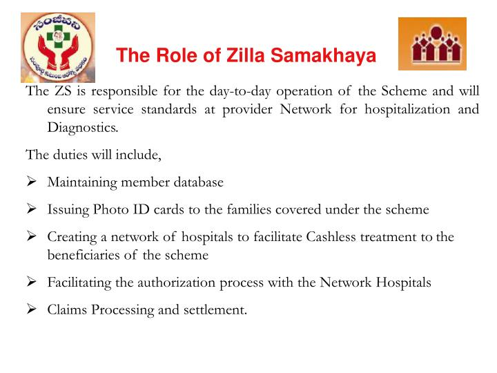 The Role of Zilla Samakhaya