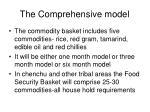 the comprehensive model