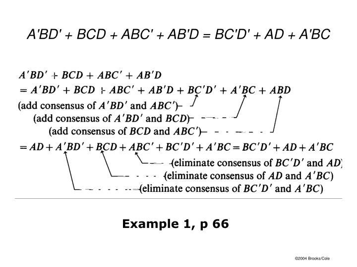 Example 1, p 66