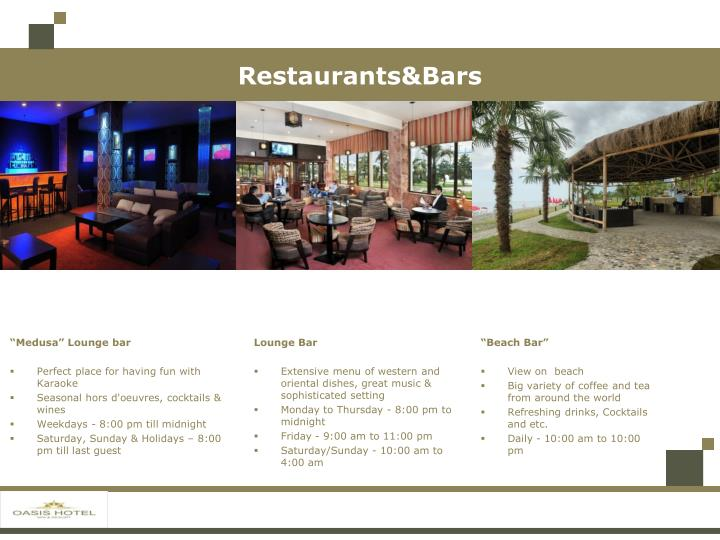Restaurants&Bars