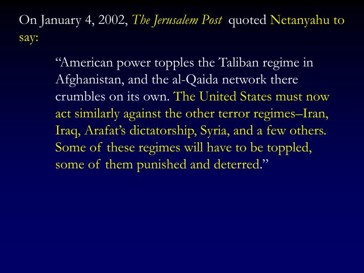On January 4, 2002,