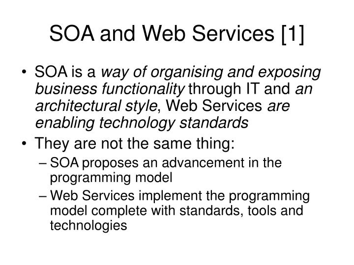 Soa and web services 1