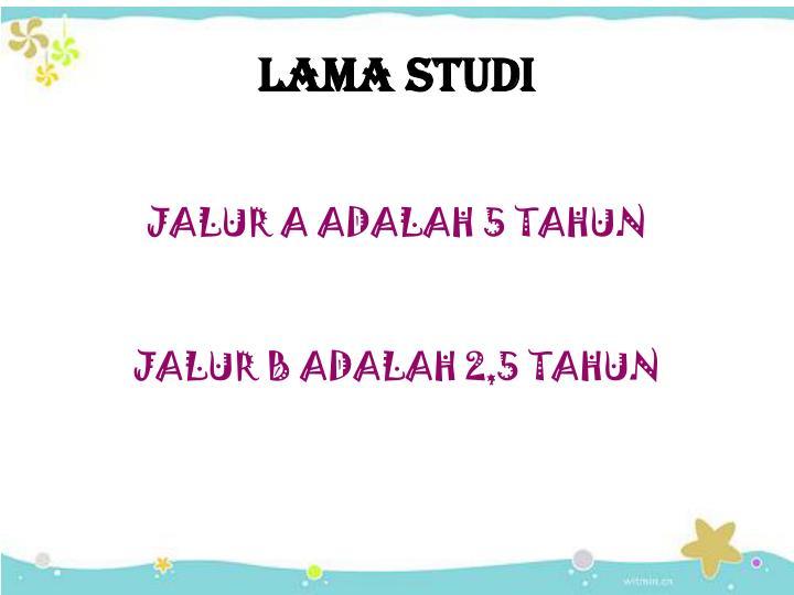 LAMA STUDI