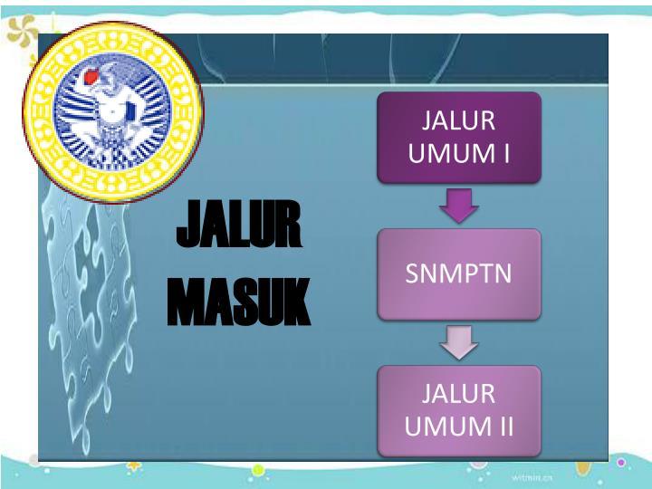 JALUR MASUK
