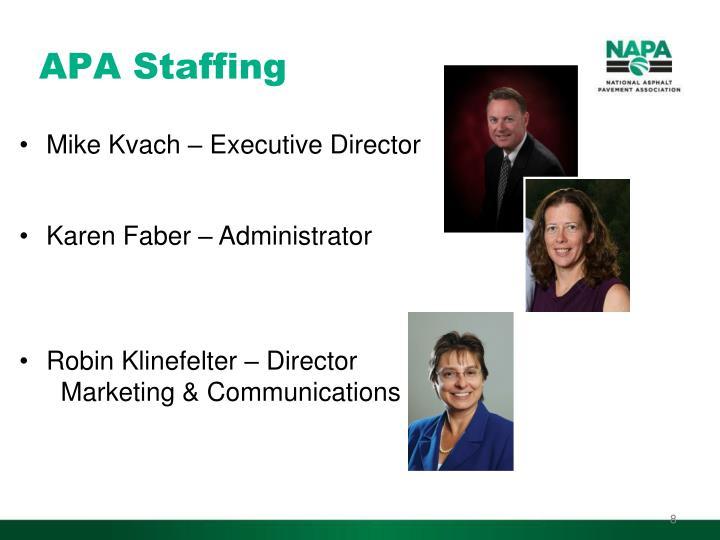 APA Staffing