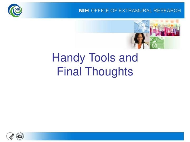 Handy Tools and