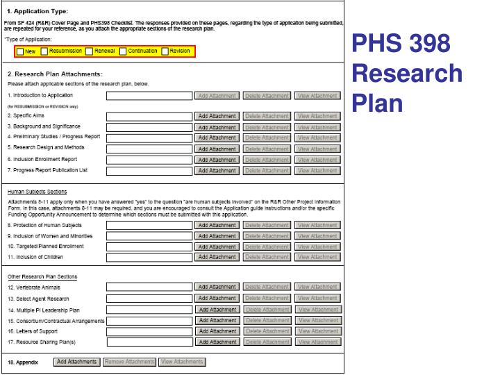 PHS 398 Research Plan