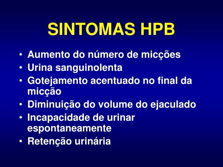 SINTOMAS HPB