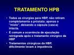 tratamento hpb1