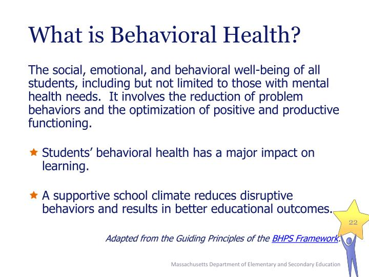 What is Behavioral Health?