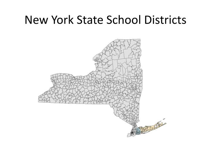 New York State School Districts