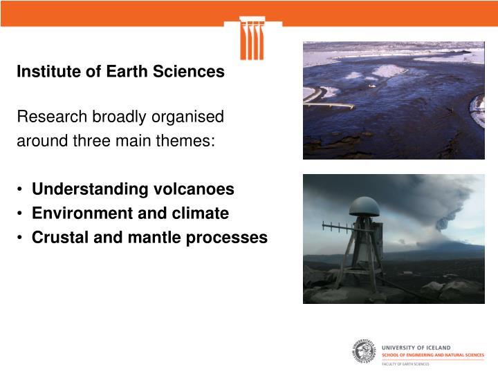 Institute of Earth Sciences