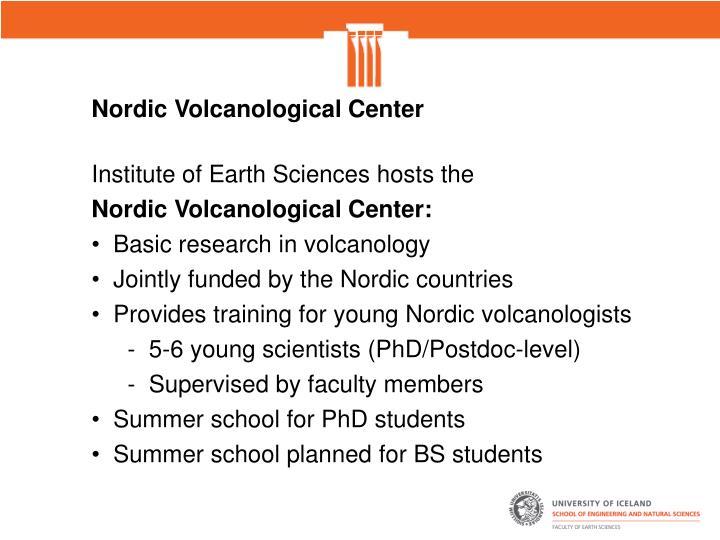 Nordic Volcanological Center