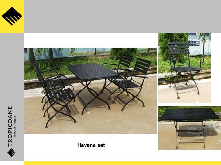 Havana set