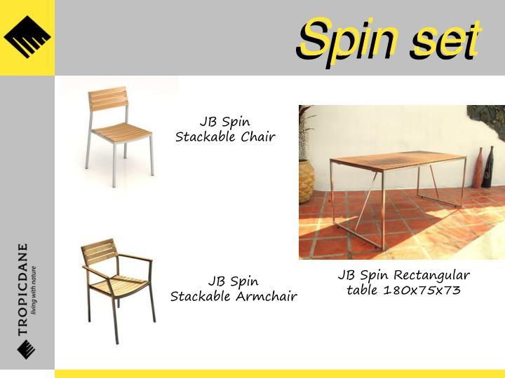Spin set