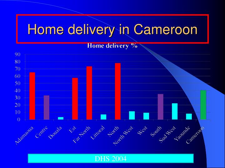 Home delivery in Cameroon