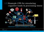 1 5 example cps for simulating cognitive loads processing times