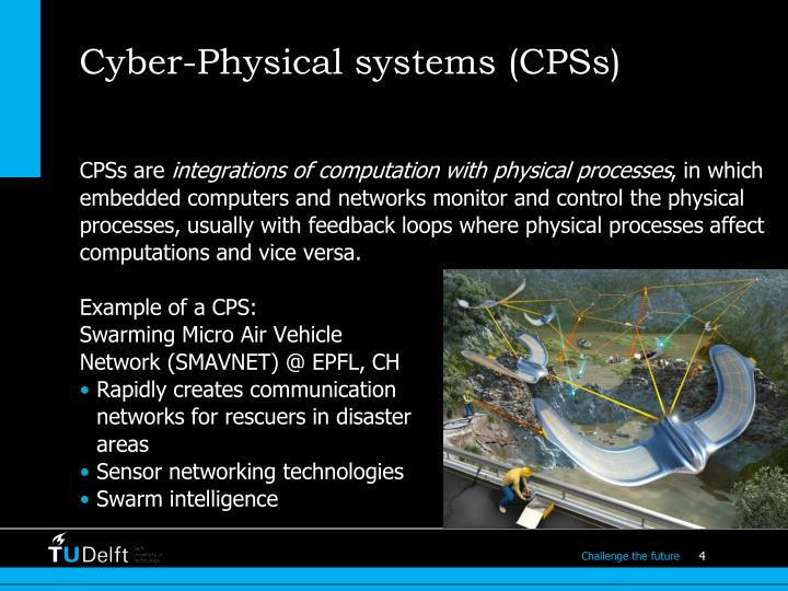 Cyber-Physical systems (CPSs)
