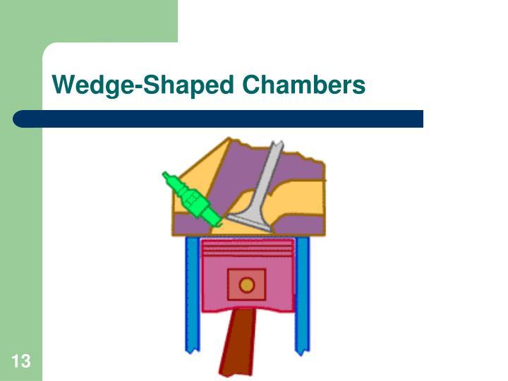 Wedge-Shaped Chambers