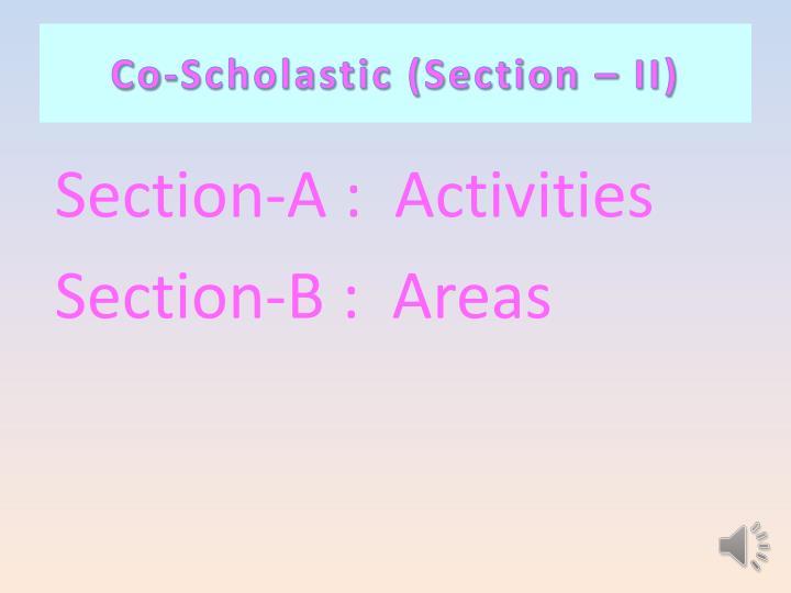 Co-Scholastic