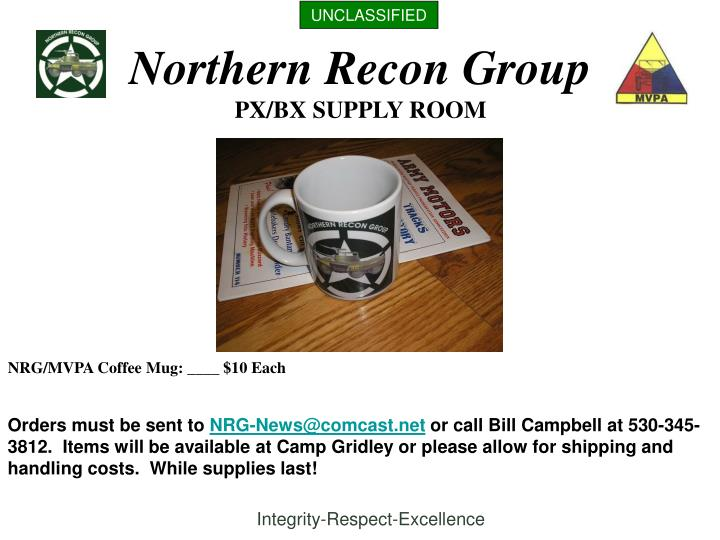 Northern recon group1