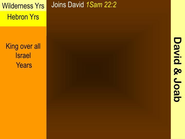 Joins David
