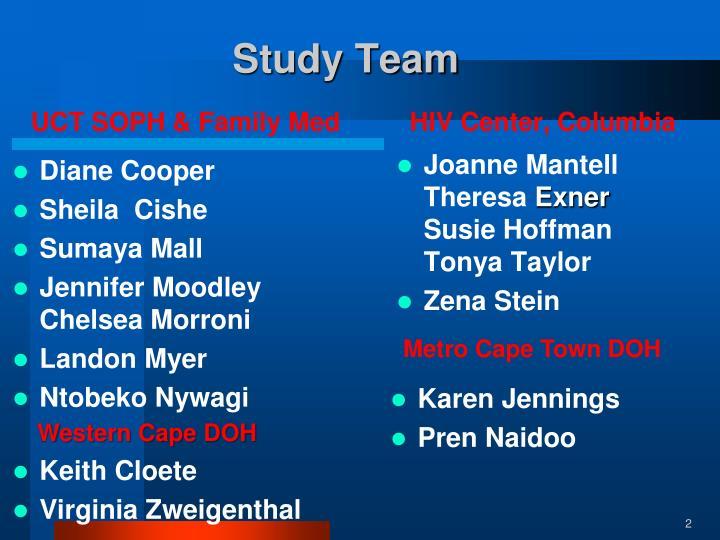 Study Team
