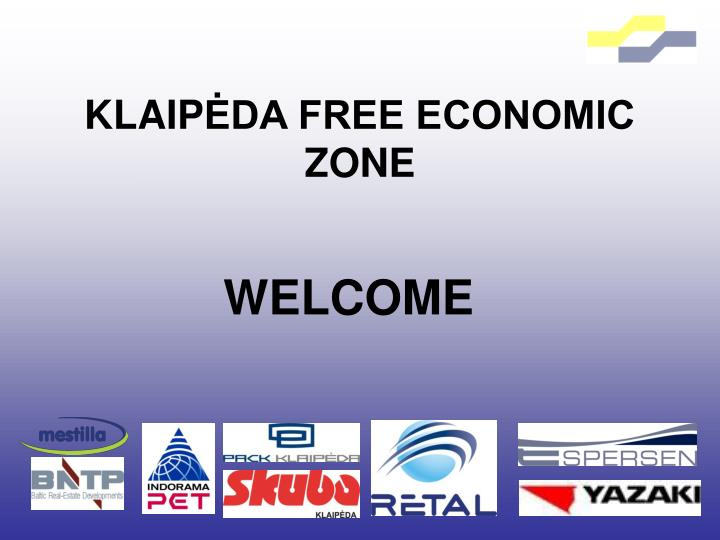 Klaip da free economic zone