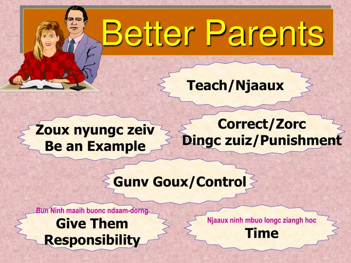Better Parents