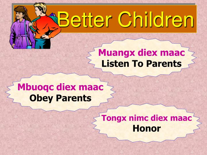 Better Children
