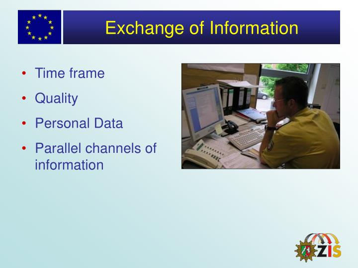 Exchange of Information