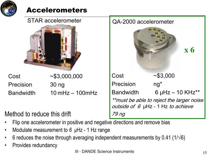 QA-2000 accelerometer