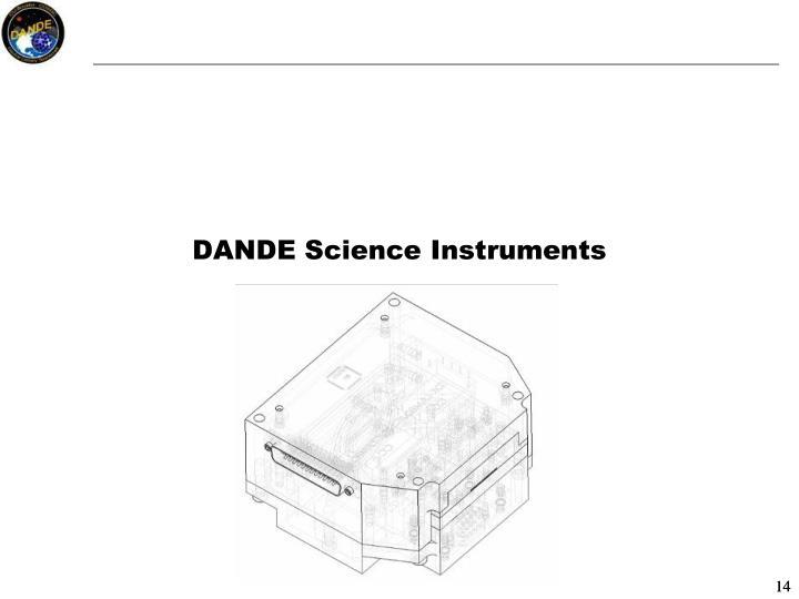 DANDE Science Instruments