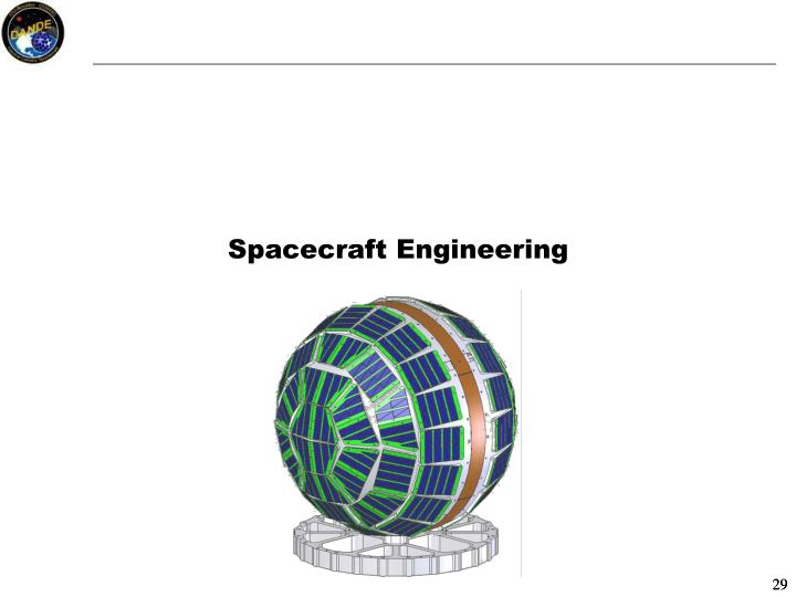 Spacecraft Engineering